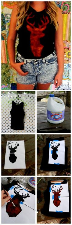 Easy Bleach Tshirt DIY!