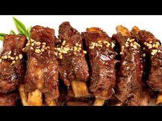 Pork Recipes, Asian Recipes, Cooking Recipes, Korean Side Dishes, Asian Pork, Pork Dishes, Pork Ribs, Sausage, Bacon