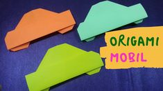 Make your own origami car toy car origami car creation, Mobil Origami, Origami Car, Make Your Own, How To Make, Youtube, Toys, Channel, Activity Toys, Diy Crafts