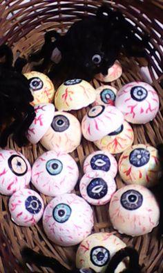 ojos de halloween