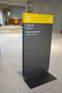 Architectural Wayfinding Signage - The Building Directory – Featured Product | Wayfinder Systems®