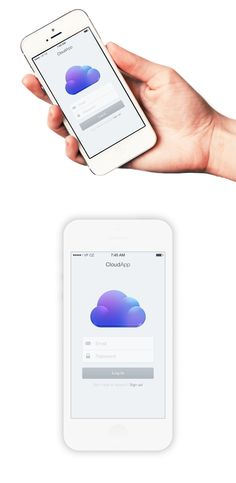 png by Jackie Tran Anh Ios App Design, Iphone App Design, Mobile App Design, User Interface Design, Web Design, Iphone 5c, Iphone Login, Tablet Ui, App Design Inspiration