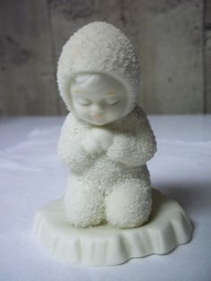 "department 56 snow babies | eBay....""now I lay me down to sleep"".....I have this one !"