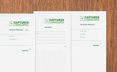 Captured Landscapes - Dan Fleming | Logo, Brand & Graphic Designer