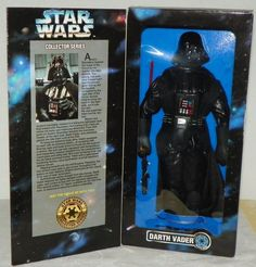 1996 Star Wars Collector Series Darth Vader Galactic Empire 12 Action Figure NIB #Hasbro