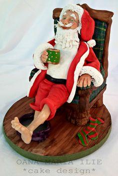 Santa Claus by Oana Ilie