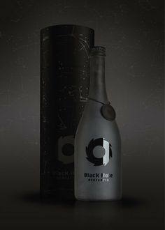 Elegant beer bottle #packaging