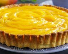 Tarte légère mangue-citron
