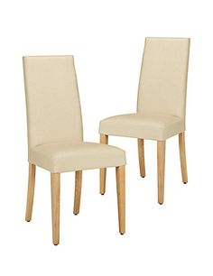 Buy the Set of 2 Alton Plain Leather Dining Chairs from Marks and Spencer's range. Wooden Dining Chairs, Fabric Dining Chairs, Leather Dining Chairs, Glass Dining Table, Dining Room Furniture, Table And Chairs, Stylish Chairs, Elegant Dining Room, Leather Fabric