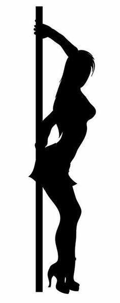 Sexy girl stripper decal for wall car bike man cave #5