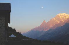 Morning at Refuge Bonatti