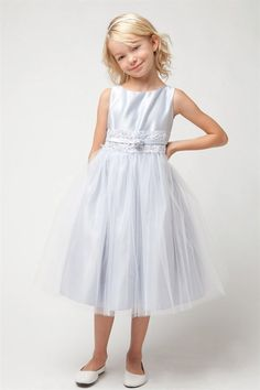 5612fc0a7 689 Best Silver Flower Girl Dresses images