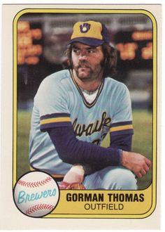 Gorman Thomas - Milwaukee Brewers