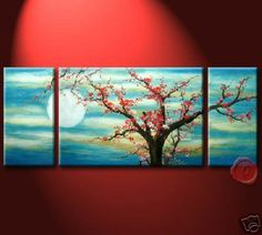 Oil painting on canvas is very easy to understand and it comes for long time.