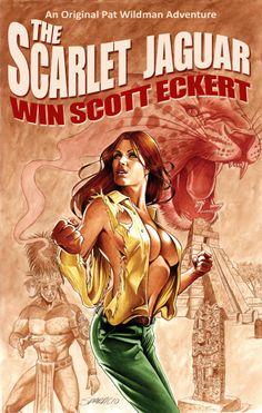 The Scarlet Jaguar - cover by Mark Sparacio
