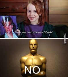 Combining my love for Leo, the Oscars, and The Parent Trap