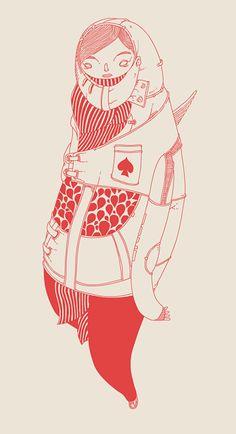 Art by Merdanchik Sanchos-Yohanson, via Behance