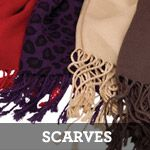 Grace Adele Scarf $15  Available in Black, Chocolate, Leopard, Purple Leopard, Purple, Red, Sand, Teal, Zebra and Red Zebra