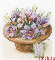 Фотографии Схемы вышивки. Рукоделие – 89 924 фотографии Beaded Cross Stitch, Cross Stitch Borders, Cross Stitch Patterns, Marjolein Bastin, Amazing Flowers, Iris, Tatting, Decorative Bowls, Crochet