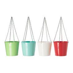 SOCKER Jardinière suspendue IKEA Il est possible de planter directement dans la jardinière ou d'y placer des plantes en pot.