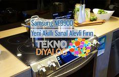 Samsung NE9900 sanal alevli fırın, CES 2015 etkinliğinde görücüye çıktı. Beyaz eşya ve televizyon sektörüne yoğunluk göstereceğini açıklayan Samsung, yeni sanal alevli fırınıyla herkesi etkilemeyi başardı.