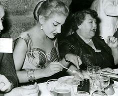 """Maria Callas & Elvira de Hidalgo, her teacher who told her """"YOU can do it all."""""""