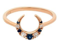 27 Gorgeous Sapphire Engagement Rings You'll Totally Fall For