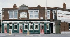 Highland Arms, Highland Rd, Eastney, closed in 1984