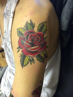 Tribal Flower Tattoos, Rose Tattoos, New Tattoos, I Tattoo, Old School Rose, Feminist Tattoo, Old School Fashion, Goddess Tattoo, Tattoo Master