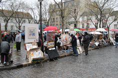 Place du Tertre   by elPadawan