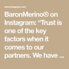 """BaronMerino® on Instagram: """"Trust is one of the key factors when it comes to our partners. We have a long-term cooperation with a local factory in Götzis, Austria.…"""" Factors, Austria, Trust, Things To Come, Key, Instagram, Unique Key"""