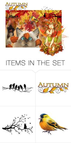 """Awesome Autumn-Contest-Artspiration"" by jeannierose ❤ liked on Polyvore featuring art"