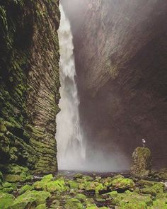 Fumacinha Waterfalls in Chapada Diamantina, Bahia - Brazil  l Let's Travel?!  #PageVibe © unknown.