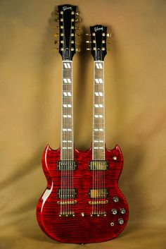 Gibson EDS-1275 Supreme Ultra Flamed Maple Double Neck SG Electric Guitar
