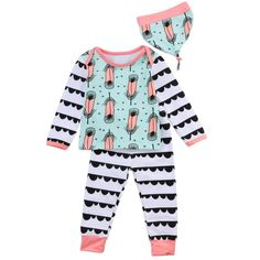 Clothing Sets Mother & Kids Obliging Christmas Toddler Baby Boy Girl Cute Cartoon Tops Fashion Pants Hat 3pcs Outfits Set Casual Clothes