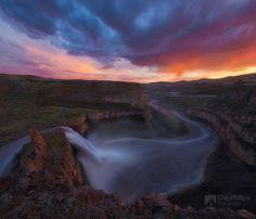 Palouse Falls Sunset / 500px
