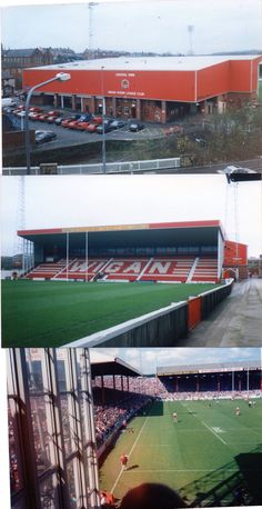 Central Park Rugby League, Football Stadiums, Area 51, World Of Sports, My Town, British Isles, Old Pictures, Central Park, Great Britain