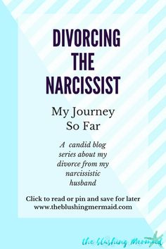 dating after divorcing a narcissist Being married to a narcissist can be tough but it's even tougher if you try to divorce a narcissist, which is the topic of the latest well book club.