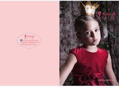 frente y contrafrente, catálogo de ropa infantil