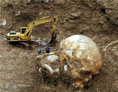 Mystery of Giant Human Skeleton Mysteries in Histories Ancient Aliens, Ancient History, Ufo, Nephilim Giants, Giant People, Unexplained Mysteries, Human Skeleton, Ancient Artifacts, Ancient Civilizations
