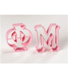 Sassy Sorority   Phi Mu Greek Letter Cookie Cutters- Get these for Day 1 of Big/Little Week- How Sweet it is to be a Phi Mu Letter Cookie Cutters, Christmas Ornament, Christmas Decor