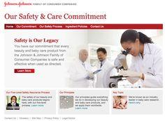 Johnson & Johnson Remove Harmful Chemicals