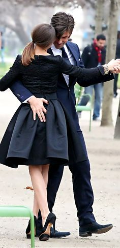 Olivia Palermo Photos - Model actress Olivia Palermo and her model beau Johannes Huebl took part in a photoshoot in Les Tuileries Gardens in Paris, France on March 2012 - Olivia Palermo and Johannes Huebl Capture Their Romance In The Park Lindy Hop, Shall We Dance, Lets Dance, Tanz Poster, Foto Picture, West Coast Swing, Dance Like No One Is Watching, Alvin Ailey, Romantic Couples