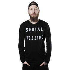 Serial Chiller -Pitkähihainen Paita   Cybershop Boy Fashion, Fashion Tips, Autumn Fashion, Sweatshirts, Boys, Shopping, Style, Fashion For Boys, Fashion Hacks