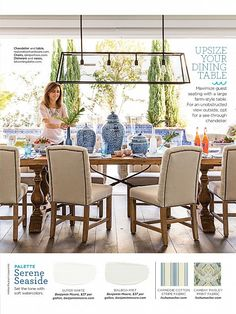 Good Housekeeping May 2015 - ginger jars on farmhouse table