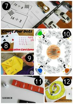 MATH GAMES This website has 15 different math games that help students to learn basic math skills. The games are all interactive and easy to set up and play. The students will love them!