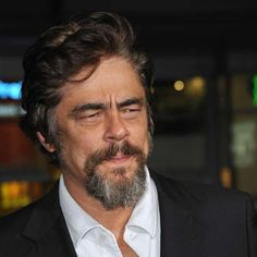 What do people think of Benicio del Toro? See opinions and rankings about Benicio del Toro across various lists and topics. Johnny Depp News, Javier Rodriguez, Fear And Loathing, Rite Of Passage, Sean Connery, Famous Men, Film Director, Cannes Film Festival, Guardians Of The Galaxy