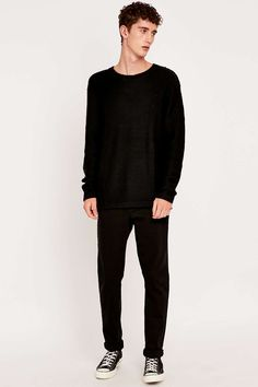 Cheap Monday Black Knit Jumper