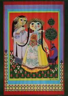 1960s Bjørn Wiinblad 1001 Nights garden version by OutofCopenhagen