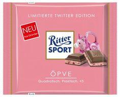 RITTER SPORT Fake Schokolade ÖPVE